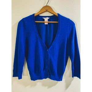Candies Electric Blue Cardigan